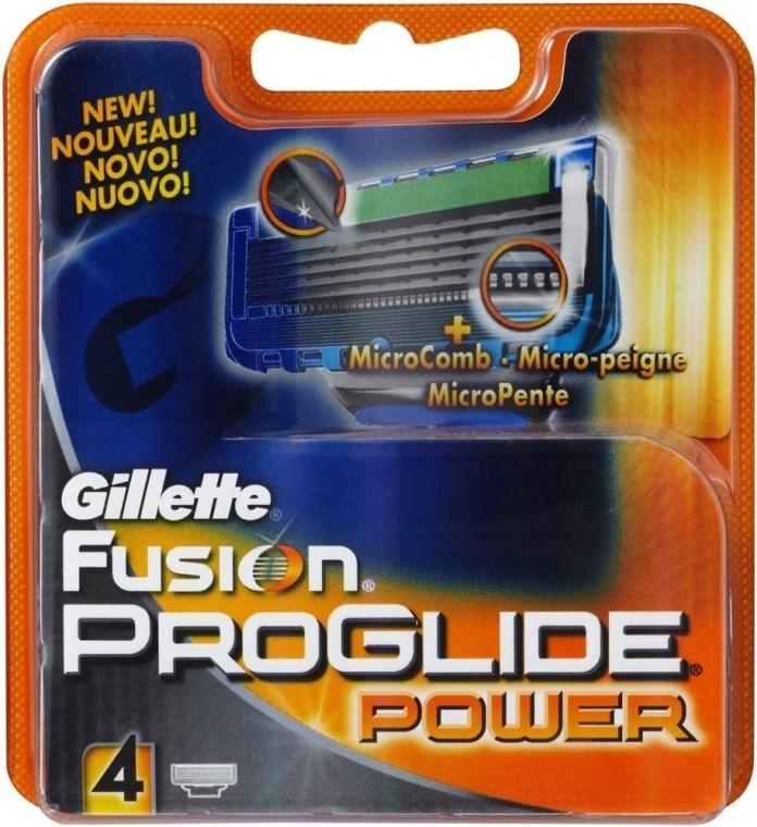 Lamette sostituibili, 4 pezzi - Gillette Fusion ProGlide Power