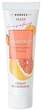 Profumi e cosmetici Maschera illuminante al pompelmo - Korres Grapefruit Instant Brightening Mask