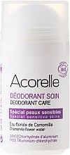 """Profumi e cosmetici Deodorante minerale in stick """"Camomilla e Mandorla"""" - Acorelle Deodorant Care"""