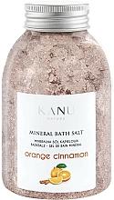 """Profumi e cosmetici Sale da bagno minerale """"Arancia e cannella"""" - Kanu Nature Orange Cinnamon Mineral Bath Salt"""
