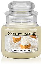 """Profumi e cosmetici Candela profumata """"Cupcake alla vaniglia"""" (in vetro) - Country Candle Vanilla Cupcake"""