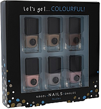 Profumi e cosmetici Set - Cosmetic 2K Let'S Get Colourful! Nudes Nail Polish (nail/laquer/6x5ml)