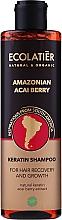 "Profumi e cosmetici Shampoo per capelli alla cheratina ""Amazon Acai berry"" - Ecolatier Amazonian Acai Berry Shampoo"