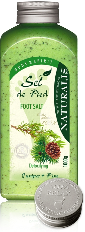 Pediluvio al sale - Naturalis Sel de Pied Juniper And Pine Foot Salt