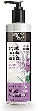 Profumi e cosmetici Gel doccia - Organic Shop Organic Shop Organic Lavender and Iris Relax Shower Gel