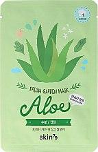 Profumi e cosmetici Maschera viso in tessuto - Skin79 Fresh Garden Mask Aloe