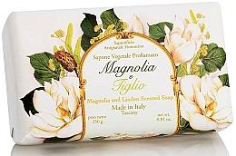"""Profumi e cosmetici Sapone naturale """"Magnolia e Tiglio"""" - Saponificio Artigianale Fiorentino Magnolia&Linden Soap"""