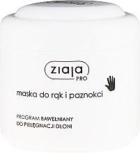 Profumi e cosmetici Maschera mani e unghie - Ziaja Pro Hand and Nail Mask