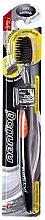 Profumi e cosmetici Spazzolino antibatterico con carbone, arancione - Twin Lotus Bamboo Charcoal Toothbrush