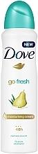 """Profumi e cosmetici Deodorante-antitraspirante """"Pera e Aloe Vera"""" - Dove Go Fresh Pear & Aloe Vera Scent"""