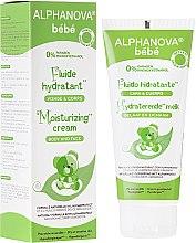Profumi e cosmetici Fluido idratante per bambini - Alphanova Baby Moisturizing Fluid