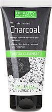 Profumi e cosmetici Detergente viso con carbone di legna - Beauty Formulas Charcoal Detox Cleanser