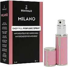 Profumi e cosmetici Atomizzatore di profumo - Travalo Milano Pink Rose