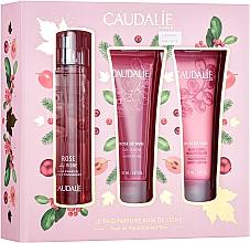 Profumi e cosmetici Caudalie Rose De Vigne - Set (edt/50ml + sh/gel/50ml + lot/50ml)