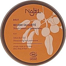 Profumi e cosmetici Burro di karité biologico per pelle e capelli secchi - Najel Organic Shea Butter