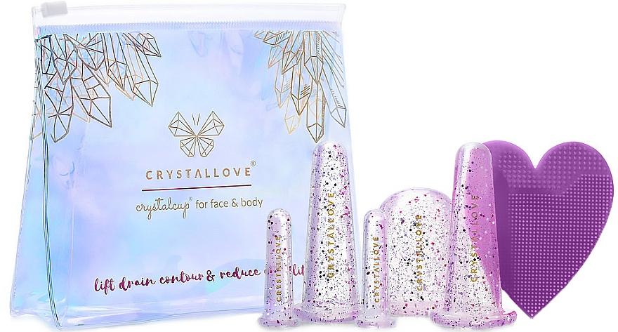 Coppe in silicone per il massaggio del viso e del corpo - Crystallove Crystalcup For Face & Body