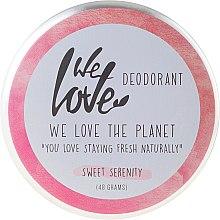 """Profumi e cosmetici Deodorante naturale alla crema """"Sweet Serenity"""" - We Love The Planet Deodorant Sweet Serenity"""