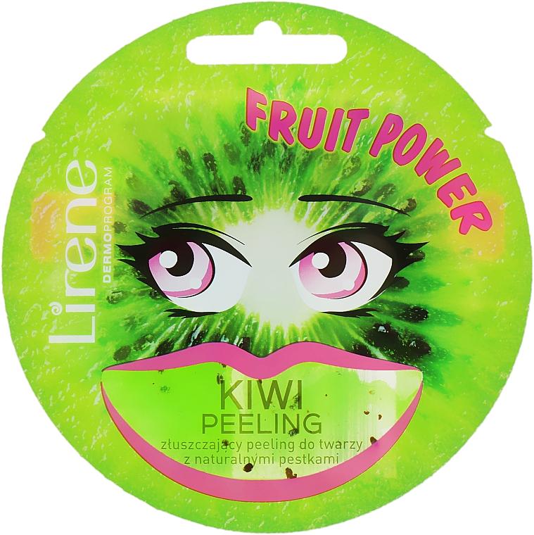 """Maschera peeling viso """"Kiwi"""" - Lirene Fruit Power"""