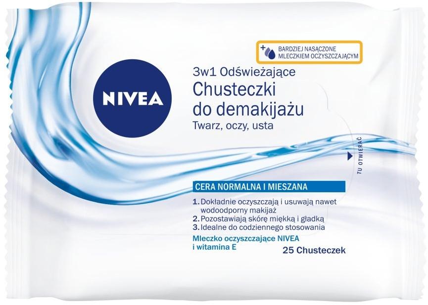 Salviette rinfrescanti viso - Nivea Aqua Effect — foto N1