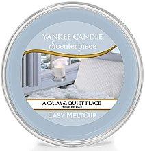 Profumi e cosmetici Cera aromatica - Yankee Candle A Calm & Quiet Place Scenterpiece Melt Cup