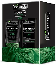 Profumi e cosmetici Set - Bielenda Only For Men Cannabis (cr/50ml + paste/150g)