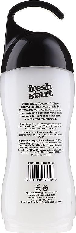 Gel doccia - Xpel Marketing Ltd Fresh Start Coconut & Lime Shower Gel — foto N2