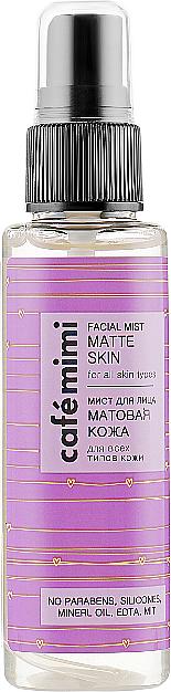 "Mist viso ""Pelle opaca"" - Cafe Mimi Facial Mist Matte Skin"