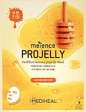 Profumi e cosmetici Maschera in tessuto con estratto di propoli - Mediheal Meience Projelly Mask