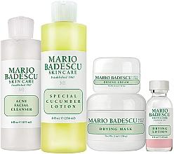 Profumi e cosmetici Set - Mario Badescu Acne Control Kit (lot/29ml+cr/14g+mask/56g+cleanser/177ml+lot/236ml)