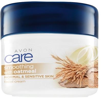 Crema emolliente per viso - Avon Care Smoothing Oatmeal Facial Cream — foto N1