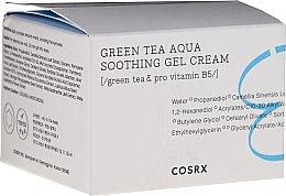 Profumi e cosmetici Crema gel viso lenitiva - Cosrx Hydrium Green Tea Aqua Soothing Gel Cream