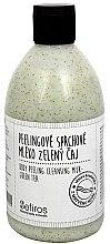 Profumi e cosmetici Latte doccia - Sefiros Body Peeling Cleansing Milk Green Tea