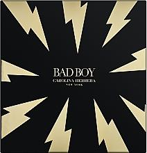 Profumi e cosmetici Carolina Herrera Bad Boy - Set (edt/100ml + sh/gel/100ml)