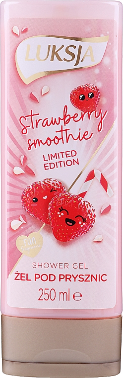 "Crema doccia ""Frullato alla fragola"" - Luksja Coconut Strawberry Smoothie Shower Gel"