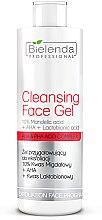 Profumi e cosmetici Gel esfoliante - Bielenda Professional Exfoliation Face Program Cleansing Face Gel