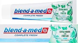 Profumi e cosmetici Dentifricio - Blend-a-med Complete Fresh Extra White & Fresh