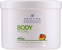 "Profumi e cosmetici Peeling corpo ""Mango"" - Hristina Professional 100% Natural Mango Body Peeling"