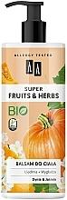 """Profumi e cosmetici Lozione per il corpo """"Zucca e gelsomino"""" - AA Super Fruits & Herbs"""