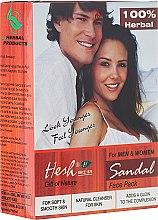 Profumi e cosmetici Maschera viso in polvere di sandalo - Hesh Sandal Face Pack