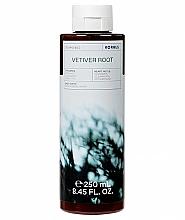 Profumi e cosmetici Gel doccia - Korres Vetiver Root Green Tea & Cedarwood Shower Gel
