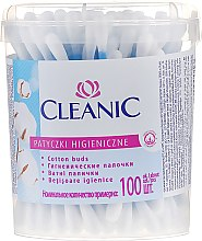 "Profumi e cosmetici Cotton fioc ""Classic"", 100 pezzi - Cleanic Face Care Cotton Buds"