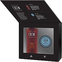 Profumi e cosmetici Set - American Crew Grooming Kit (shm/250ml + fiber/85ml)
