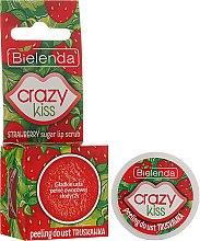 Profumi e cosmetici Scrub labbra alla fragola - Bielenda Crazy Kiss Strawberry Sugar Lip Scrub