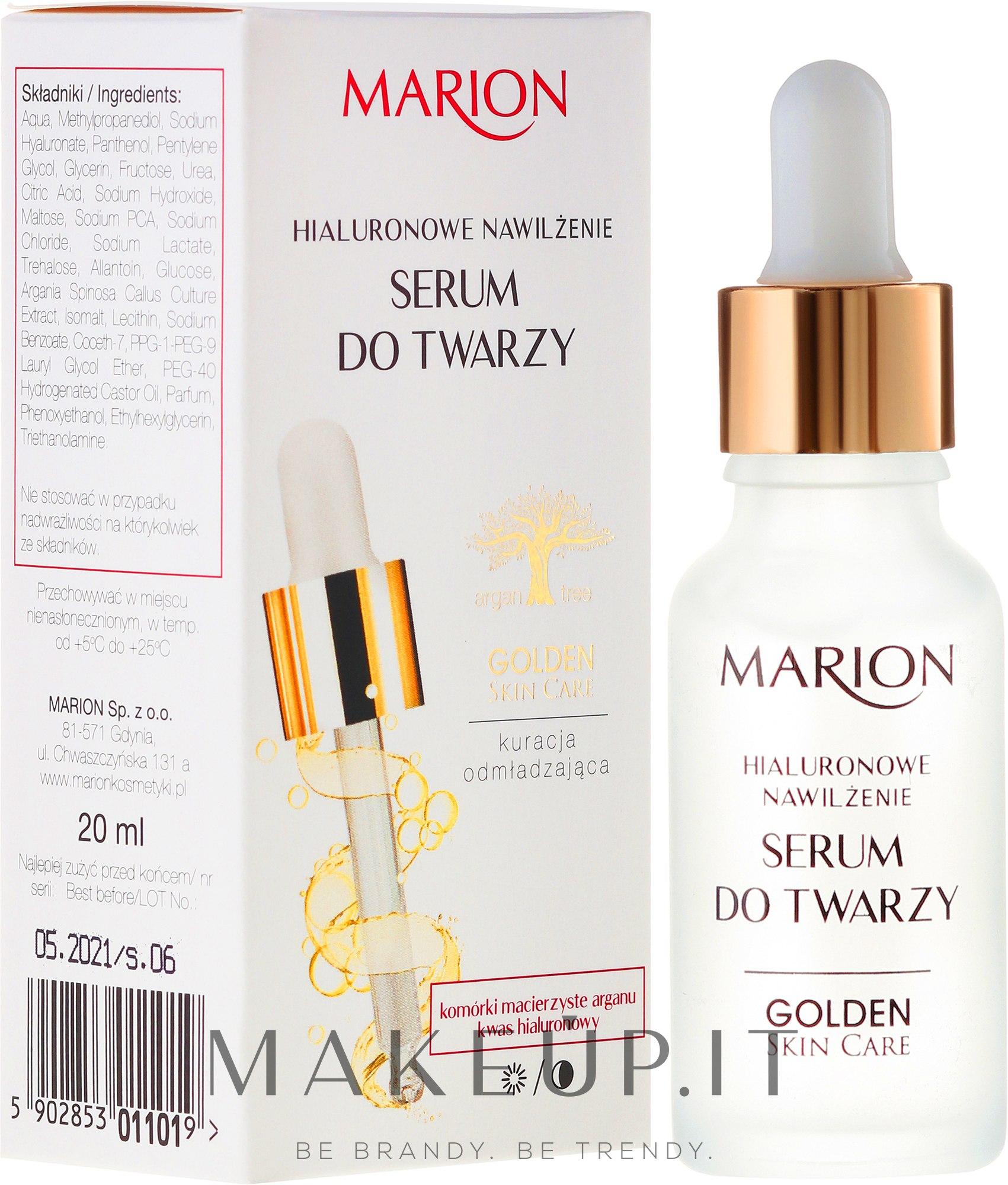 Siero per il viso, collo e decollete - Marion Golden Skin Care — foto 20 ml