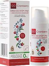 Profumi e cosmetici Crema emolliente per piedi e talloni - GoCranberry Cosmetics Foot and Heel Cream