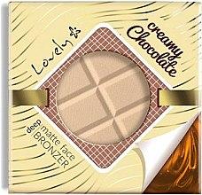 Profumi e cosmetici Cipria-bronzer viso - Lovely Creamy Chocolate Deep Matte Bronze