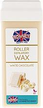 "Profumi e cosmetici Cartuccia depilatoria ""Cioccolata bianca"" - Ronney Wax Cartridge White Chocolate"