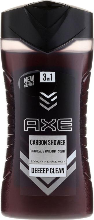 Gel doccia 3in1 - Axe Carbon Shower Gel