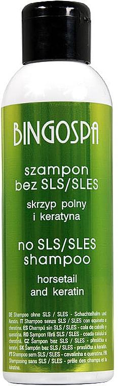 Shampoo alla cheratina - BingoSpa Shampoo Without SLES / SLS Keratin — foto N1