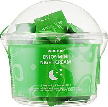 Profumi e cosmetici Crema viso notte alla centella asiatica - Ayoume Enjoy Mini Night Cream